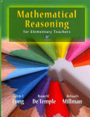 Mathematical Reasoning for Elementary School Teachers with MyMathLab MyStatLab and Activities Book