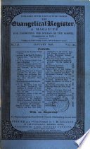 The Evangelical Register