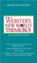 Webster's New World Thesaurus ebook