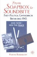 From Soapbox to Soundbite Pdf/ePub eBook