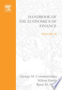 Handbook Of The Economics Of Finance Book PDF