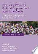 Measuring Women S Political Empowerment Across The Globe