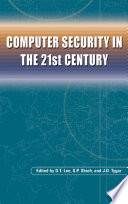 Computer Security In The 21st Century Book PDF