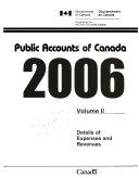 Public Accounts of Canada Book