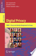 Digital Privacy