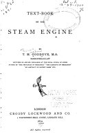 Text book on the Steam Engine