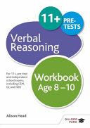 Verbal Reasoning Workbook 8-10