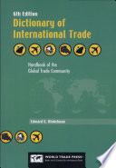 Dictionary of International Trade