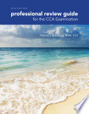 Professional Review Guide for the CCA Examination, 2016 Edition (Book Only)
