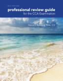 Professional Review Guide for the CCA Examination  2016 Edition  Book Only
