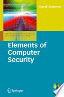 """""""Elements of Computer Security"""" by David Salomon"""