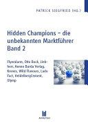Hidden Champions - die unbekannten Marktführer - Band 2