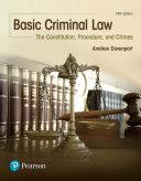 Basic Criminal Law
