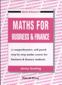 Quicksmart Maths for Business and Finance