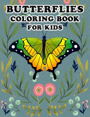 Butterflies - Coloring Book for Kids