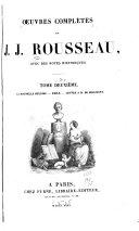 Œuvres complètes de J. J. Rousseau
