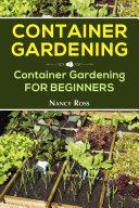 Container Gardening Pdf/ePub eBook