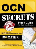 Ocn Secrets Study Guide - Your Key to Exam Success