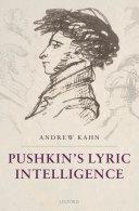 Pdf Pushkin's Lyric Intelligence Telecharger