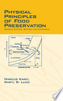 Physical Principles Of Food Preservation Book PDF