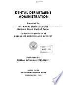 Dental Department Administration
