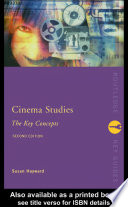 Cinema Studies  The Key Concepts