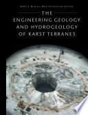 The Engineering Geology and Hydrology of Karst Terrains Book