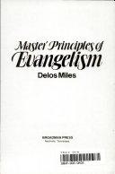Master Principles of Evangelism