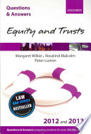 Q A Revision Guide Equity And Trusts 2012 And 2013