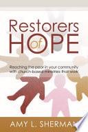 Restorers Of Hope