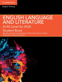 A AS Level English Language and Literature for AQA Student Book