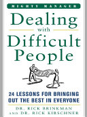 Dealing With Difficult People [Pdf/ePub] eBook