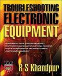 Troubleshooting Electronic Equipment Book