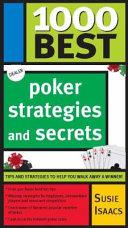 1000 Best Poker Strategies and Secrets