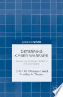 Deterring Cyber Warfare Book PDF