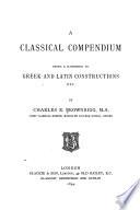A Classical Compendium