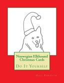 Norwegian Elkhound Christmas Cards