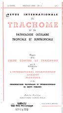 Revue internationale du trachome et de pathologie oculaire tropicale et subtropicale