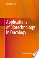 Applications Of Biotechnology In Oncology Book PDF