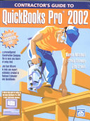 Contractor s Guide to Quickbooks Pro 2002