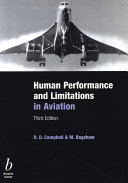 Human Performance and Limitations in Aviation