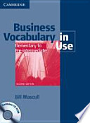 Business Vocabulary in Use - Elementary to Pre-intermediate