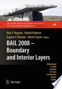 BAIL 2008   Boundary and Interior Layers