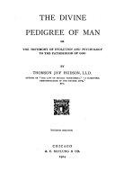 The Divine Pedigree of Man