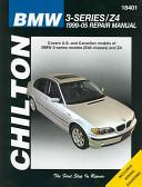 Chilton's BMW 3-series, Z4 1999-05 Repair Manual