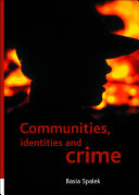 Communities, Identities and Crime