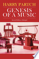 Genesis Of A Music: An Account Of A Creative Work, Its ...