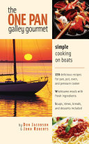 The One Pan Galley Gourmet   Simple Cooking on Boats