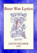 BOER WAR LYRICS - Battlefield Poetry from the Boer Wars - the overture to WWI Pdf/ePub eBook