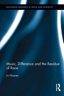 Music, Difference and the Residue of Race Pdf/ePub eBook